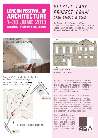 London Festival of Architecture! – Belsize Park Project Crawl!