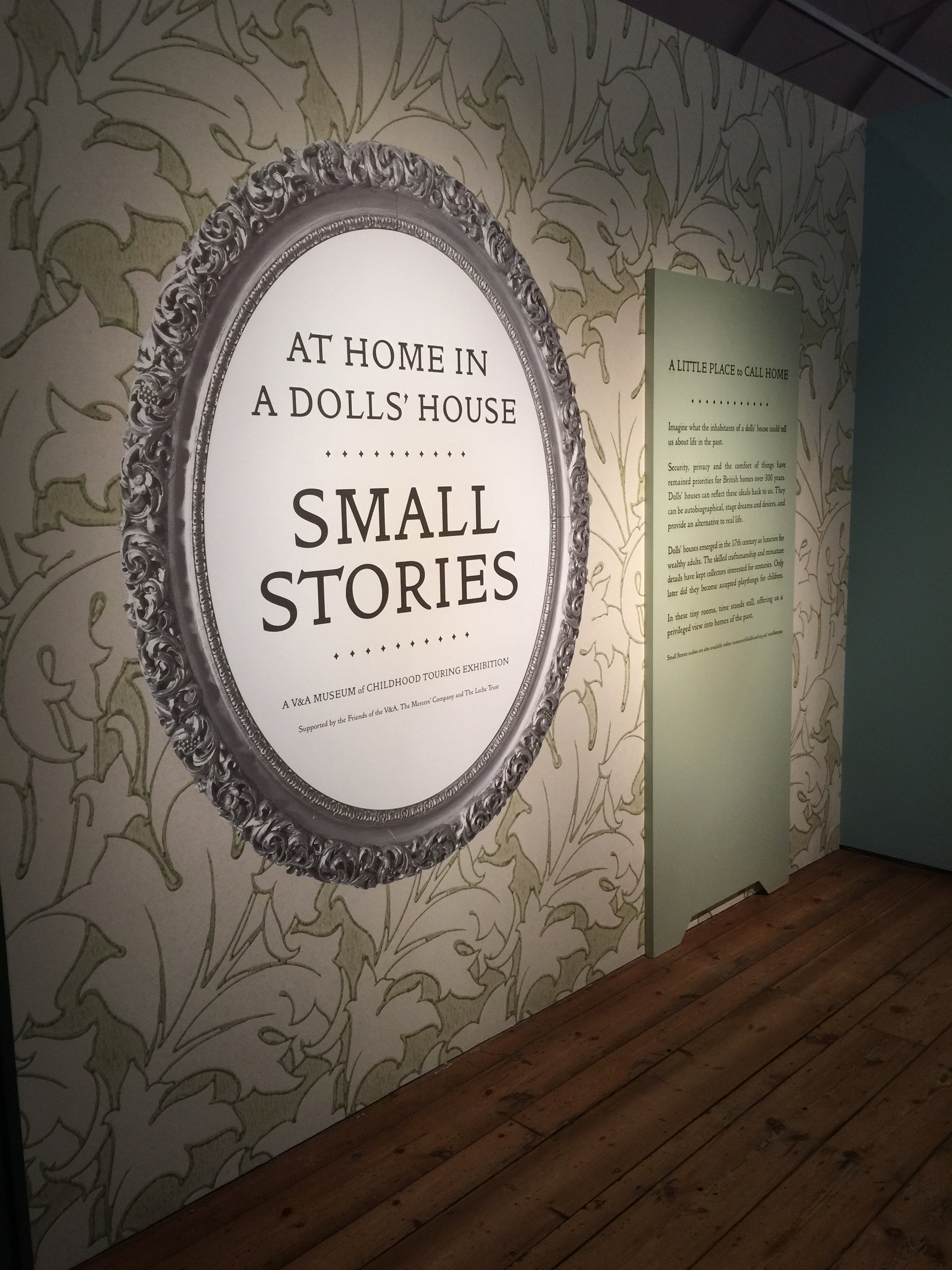 Small Stories Exhibition Trip! V&A MoC