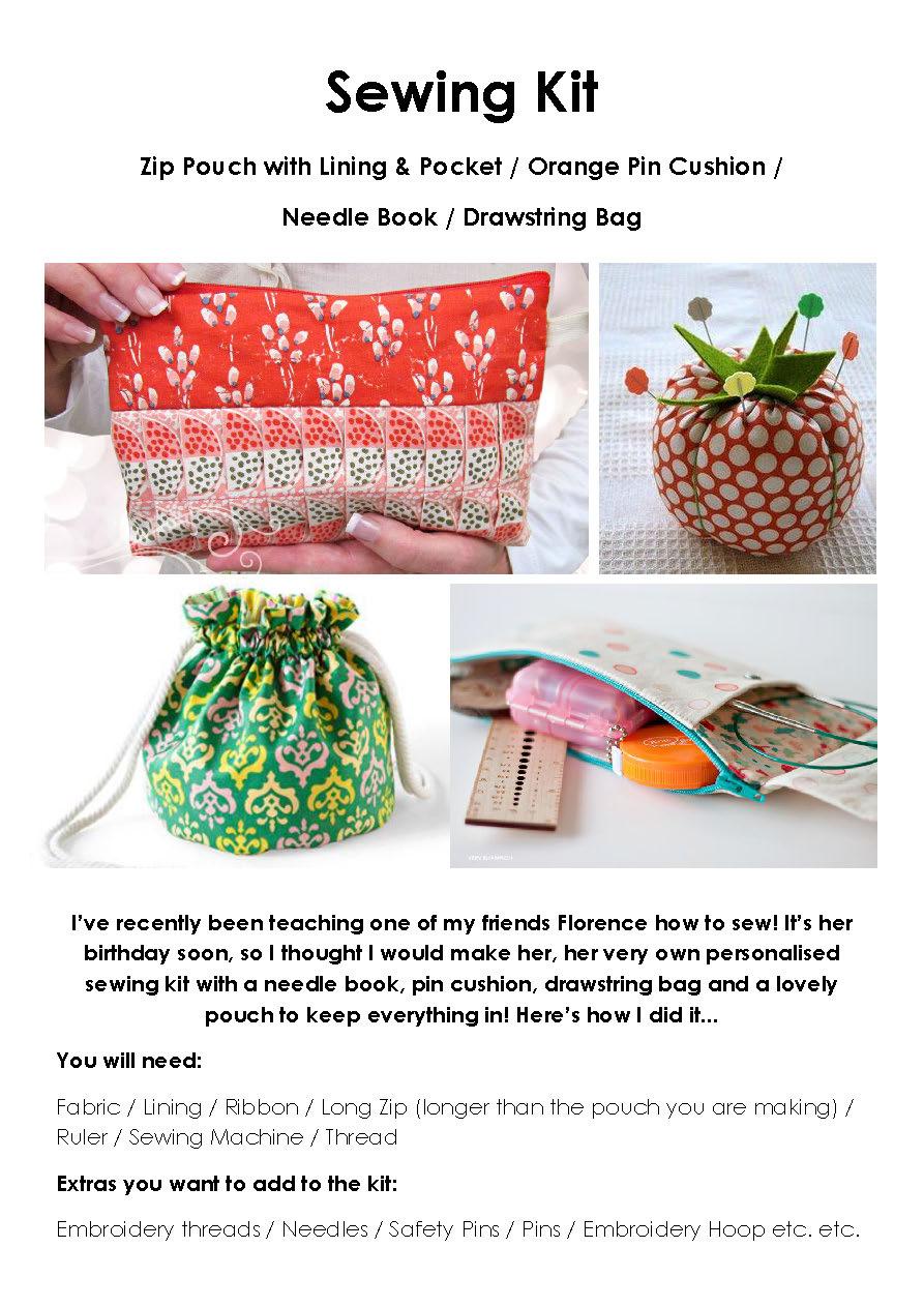 Make It Blog! Sewing Kit!