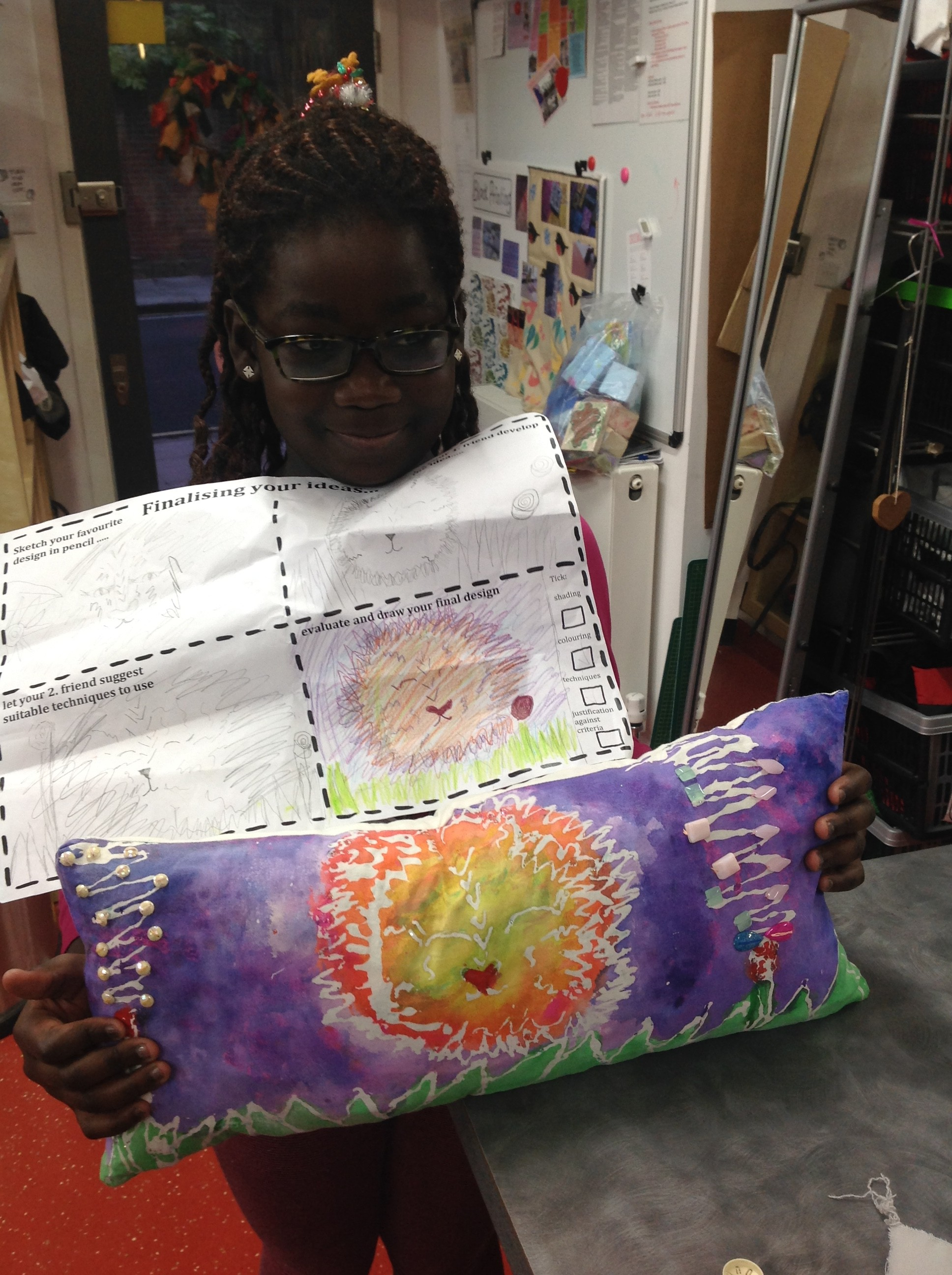 Design Competition Winners, 'Textile Art on Cushions'