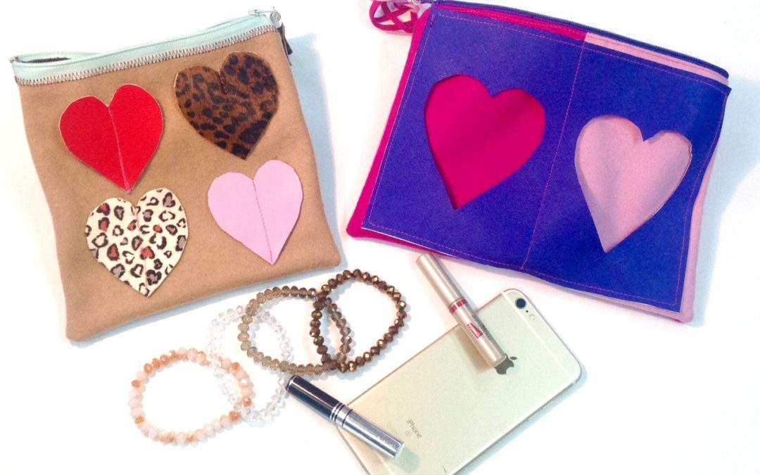 How To Make A Heart Clutch!
